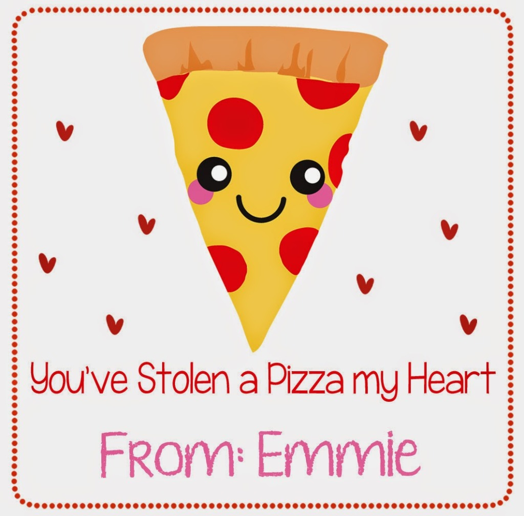 Pizza Valentine sample