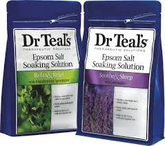 Dr. Teal's Epsom Salt Soak mint rosemary lavendar