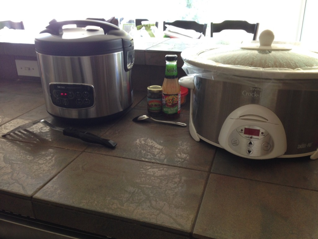 crockpot dinner rice cooker