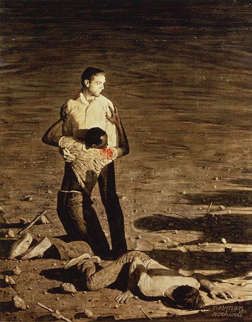 Murders in Mississippi Norman Rockwell