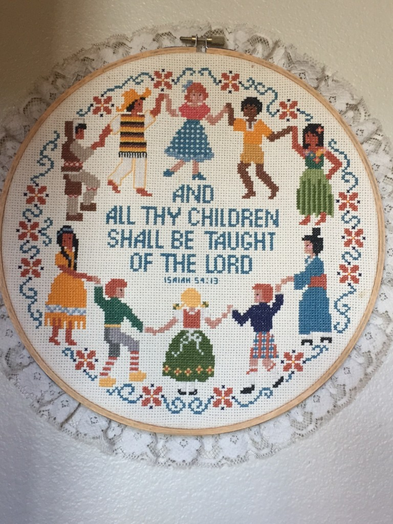 All thy children shall be taught of the Lord
