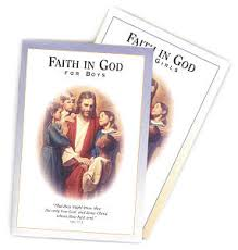 Faith in God booklets