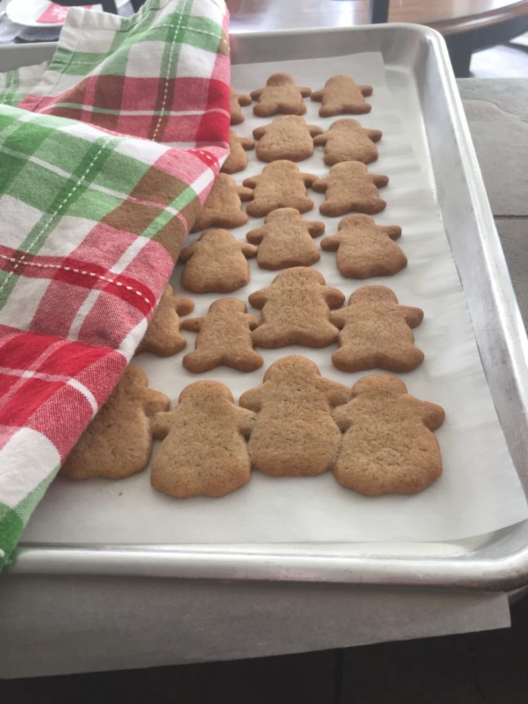 Finnish gingerbread cookies