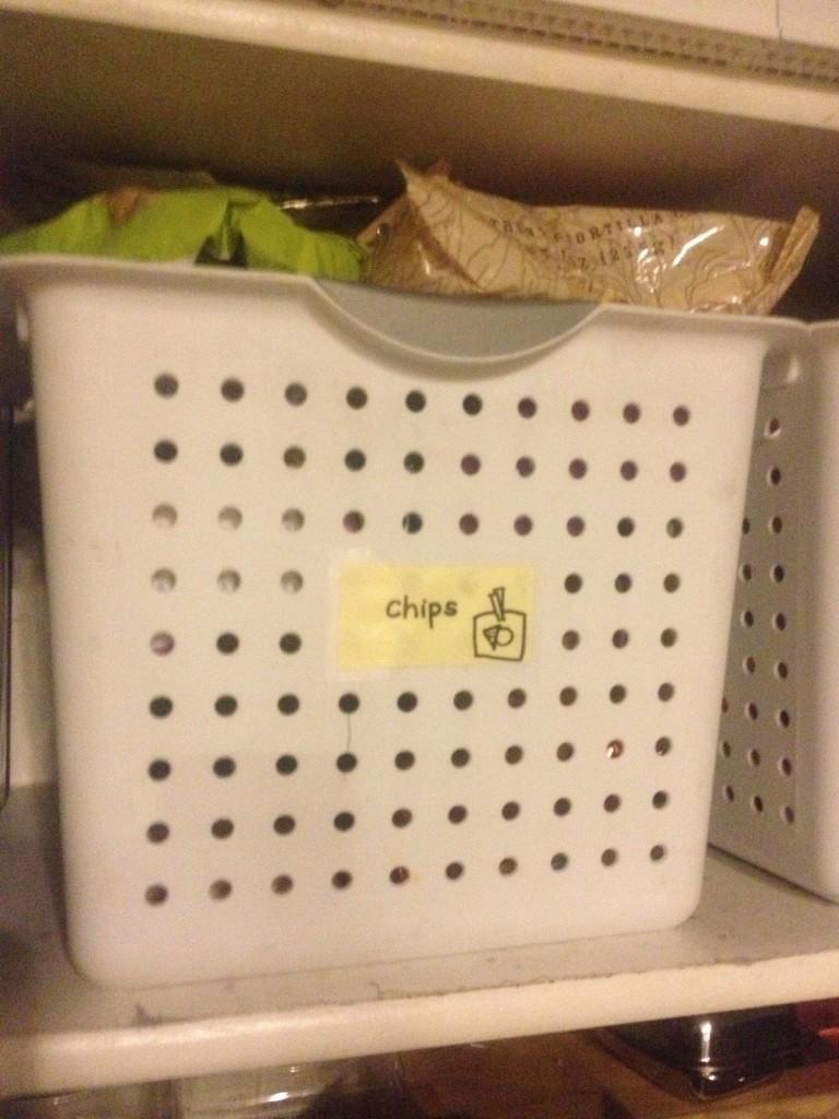 Chip basket photo
