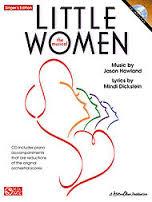 Little Women musical sheet music