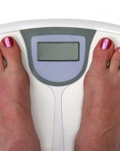 Blank weight scale