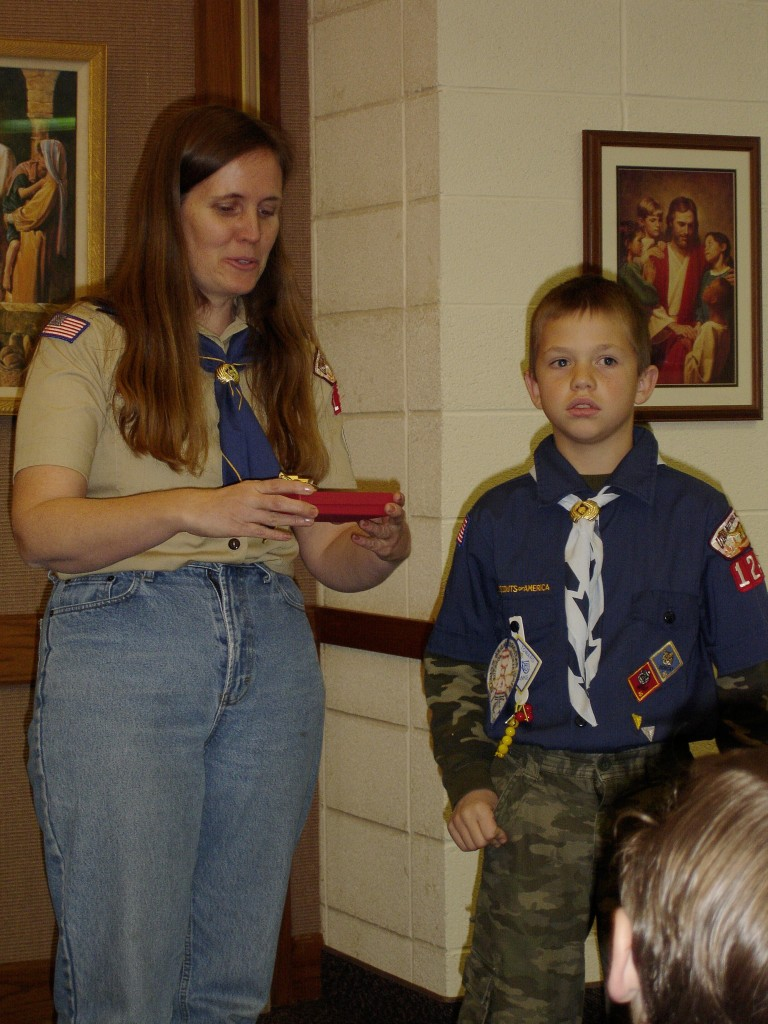 Renee, Nate and Scouts