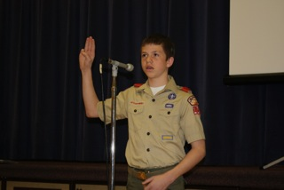 Nate, Scout pledge