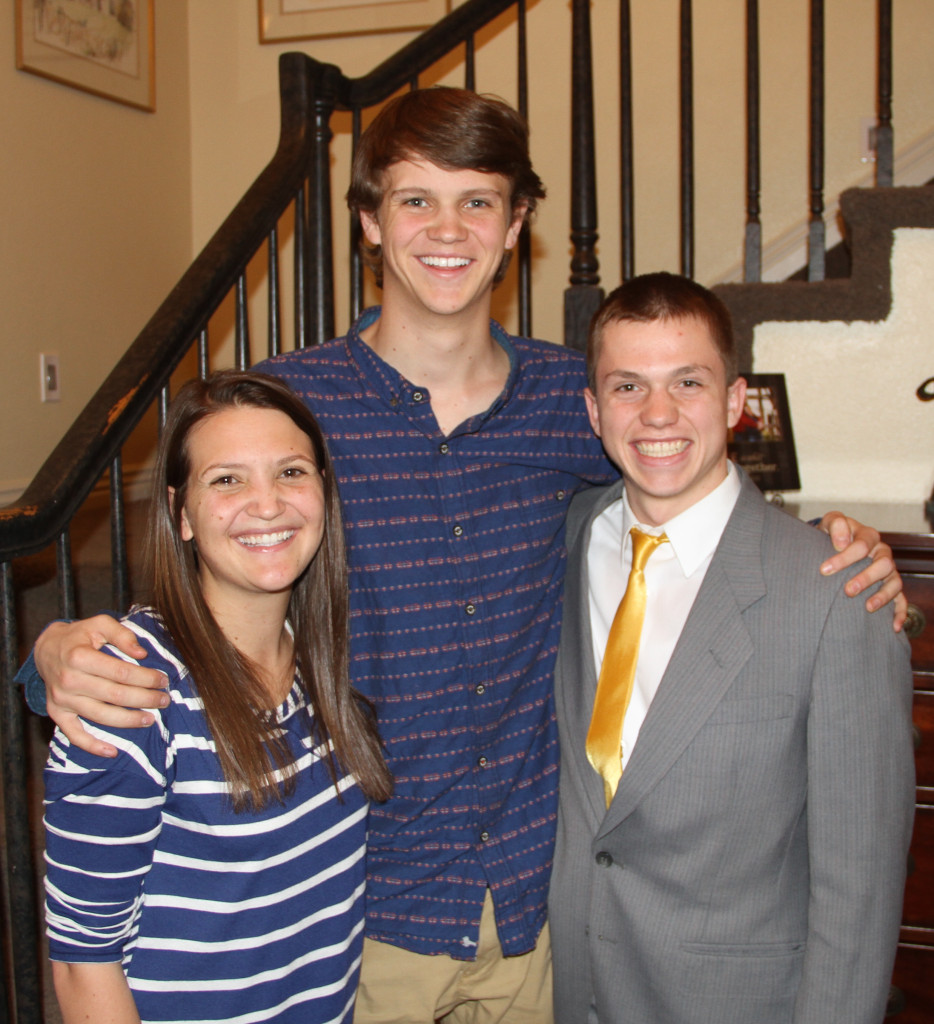 Amber and Peter Stratton and Elder Livingston