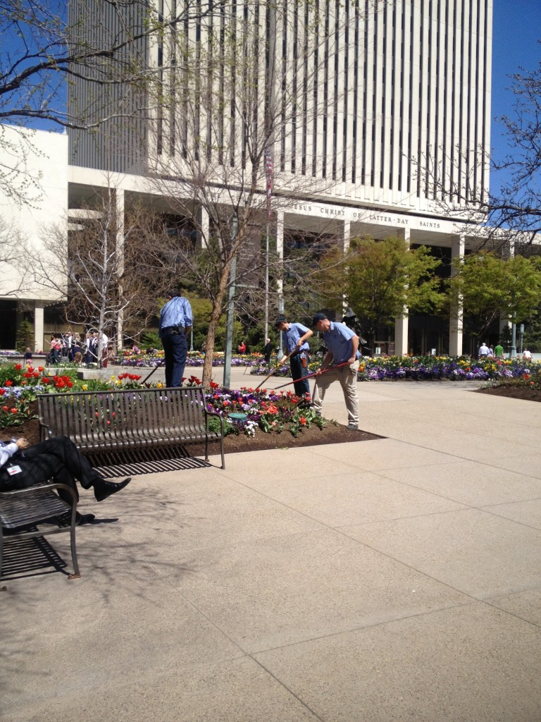 temple square gardeners