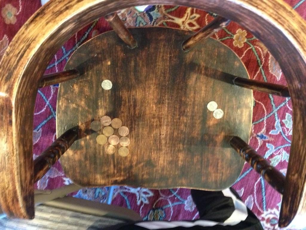 practice pennies