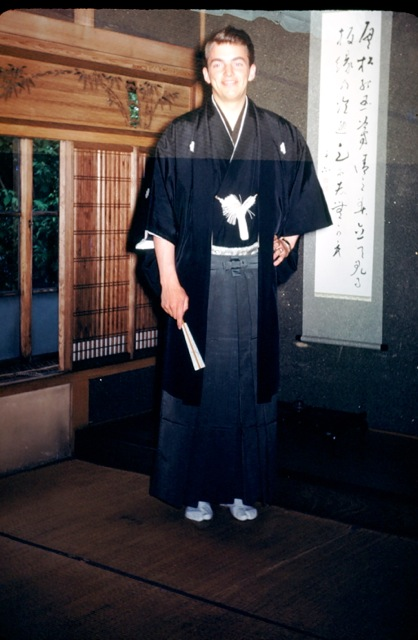 Grandpa Joe in Japan