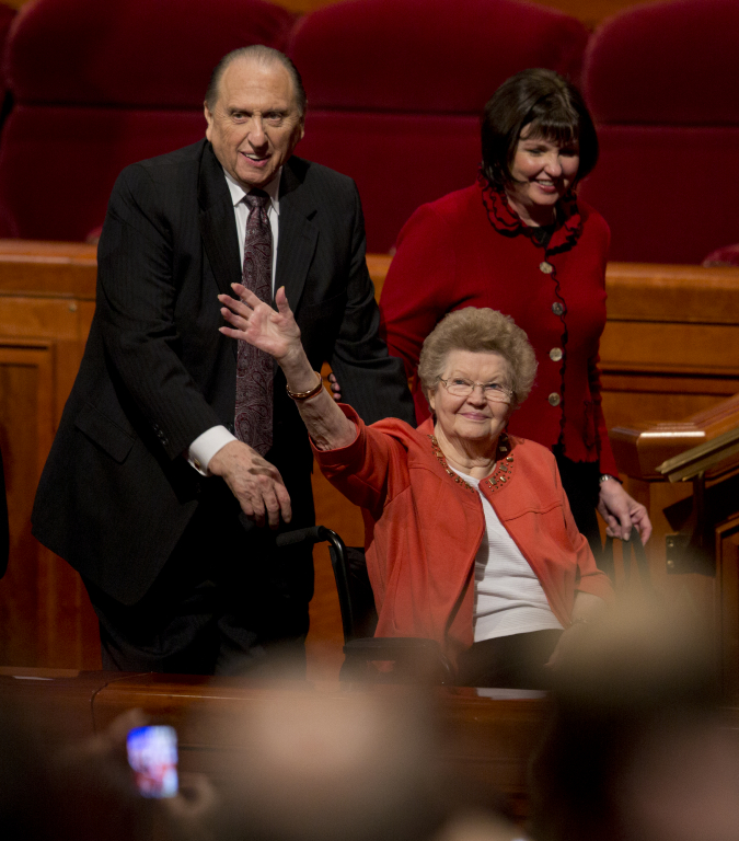President and Sister Monson