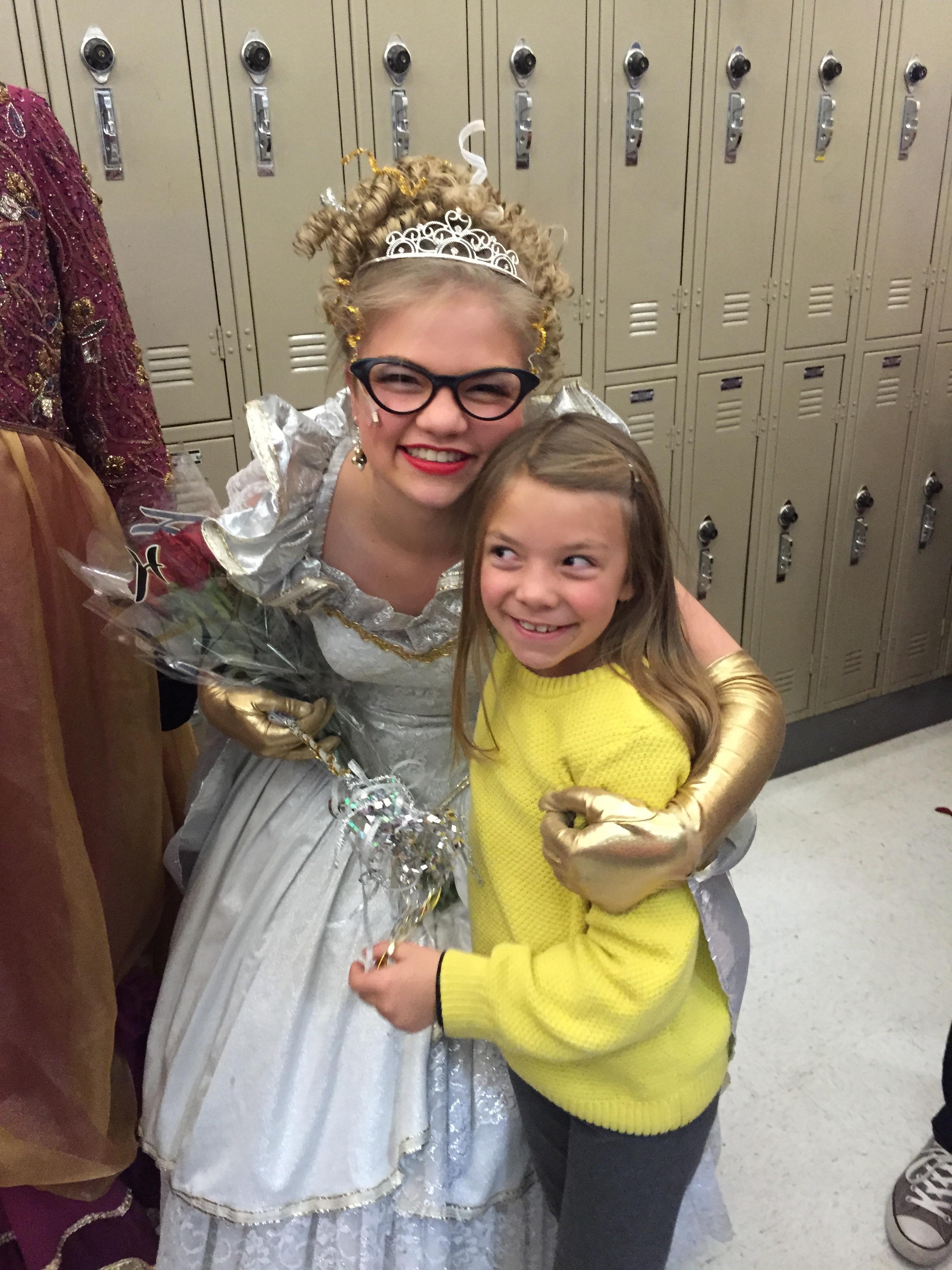 Fairy Godmother and Anna