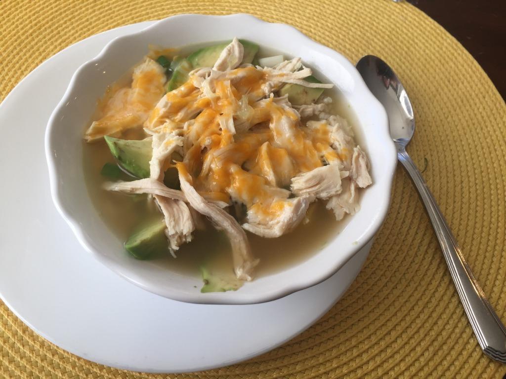 Eliza's Mexican soup
