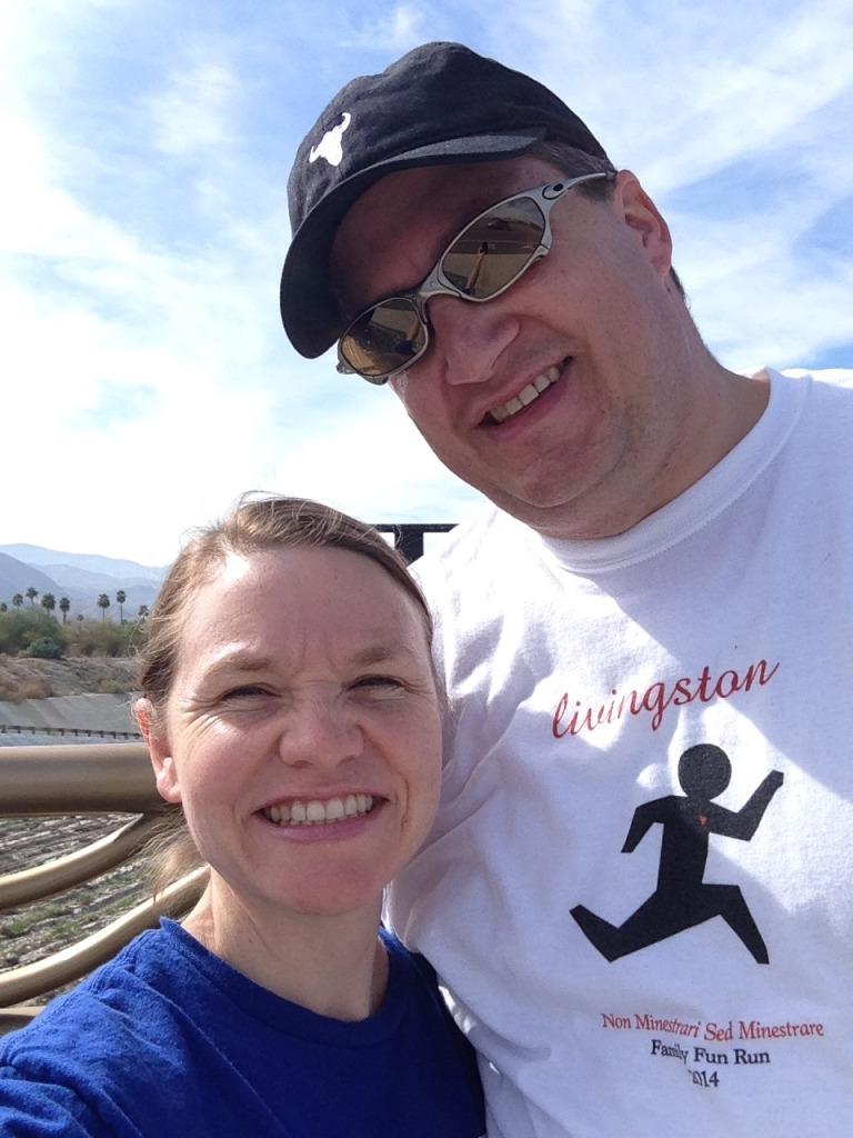 hiking with Lane