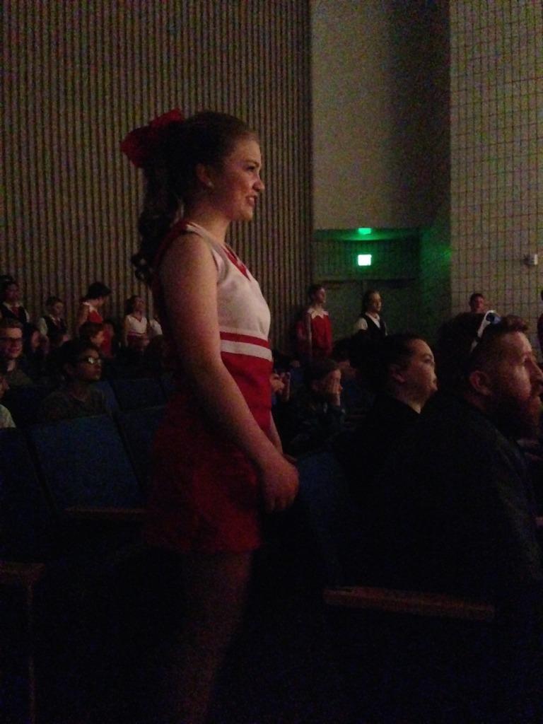 High School Musical Rebecca cheerleader drama