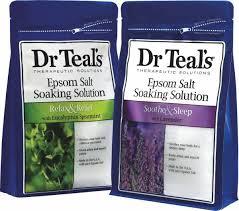 Dr. Teal's Epsom Salt Soak mint rosemary lavendar