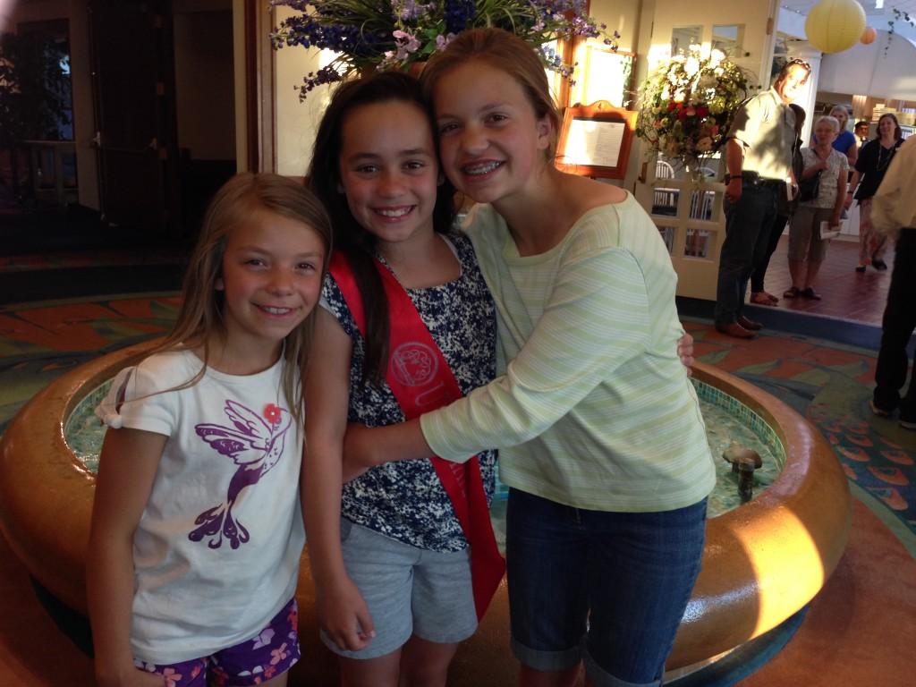 Anna, Jaci, Eliza