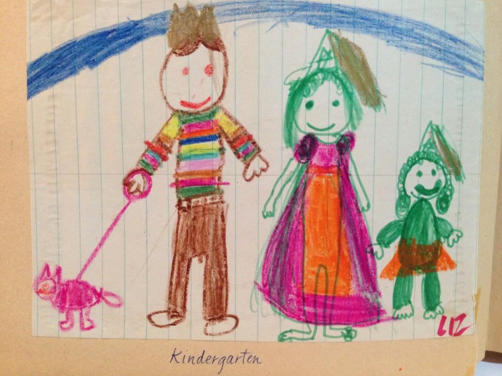 Roayl family drawing