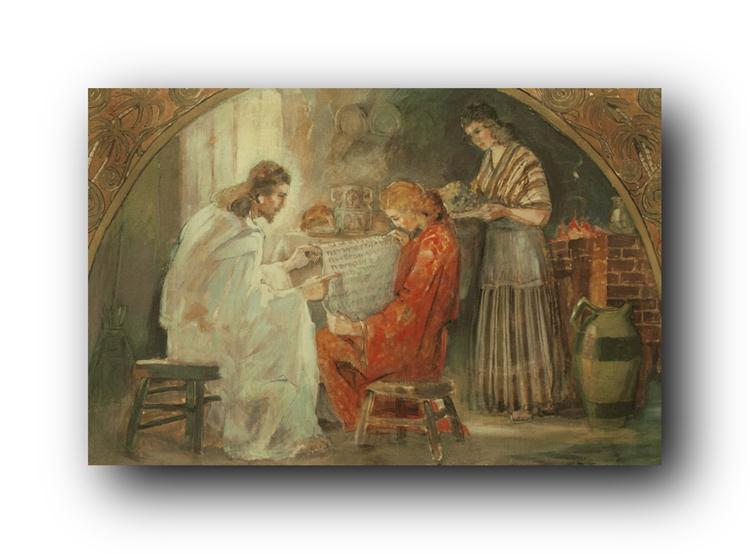 Mary and Martha Minerva Teichert