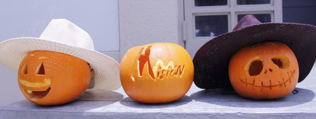 Peru mission Halloween pumpkins