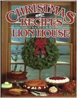 Christmas Recipes from the Lion House cookbook