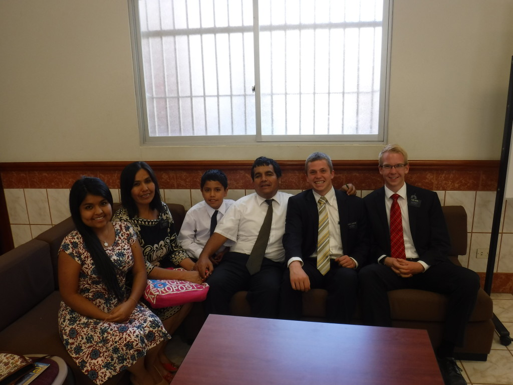 Elder Livi with V. family Dec. 2015