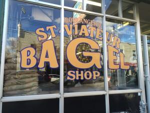 St Viateur bagel