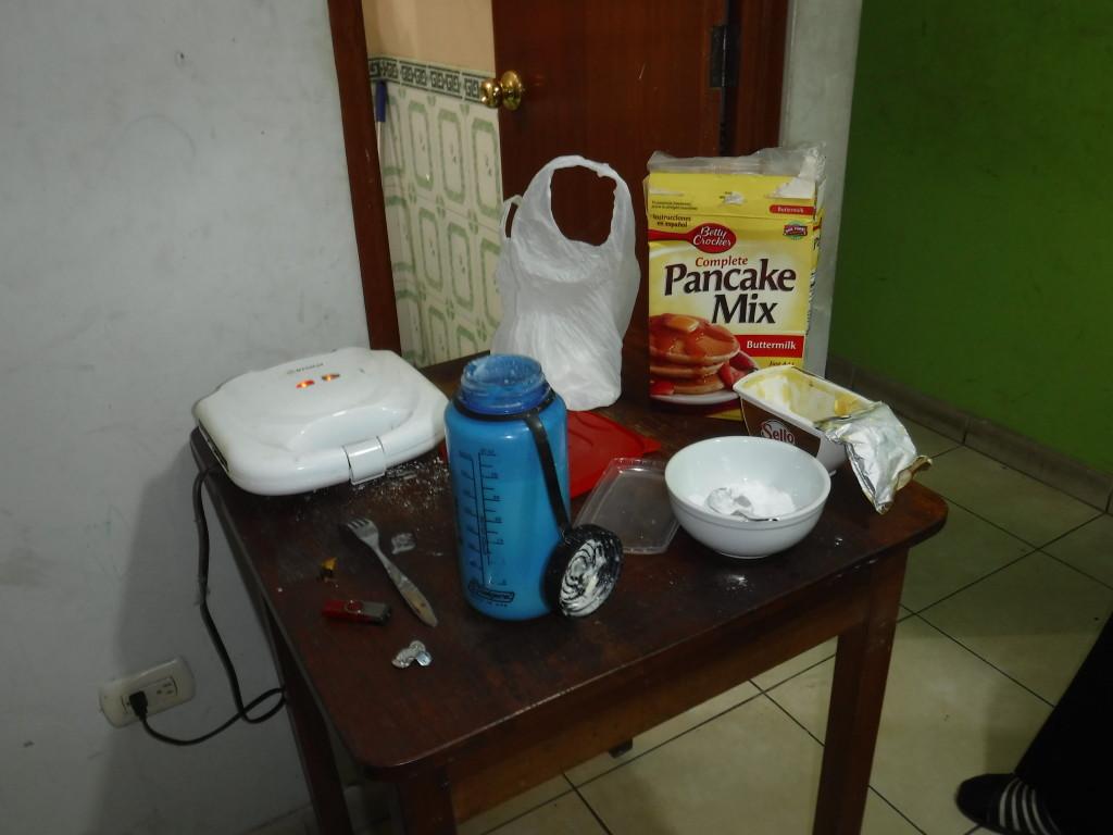Elder Livi pancakes