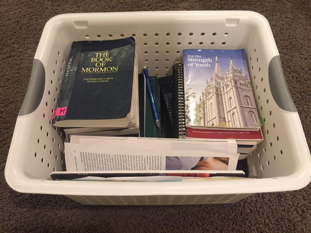 scripture basket