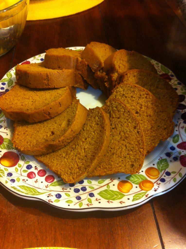 Kneader's pumpkin bread