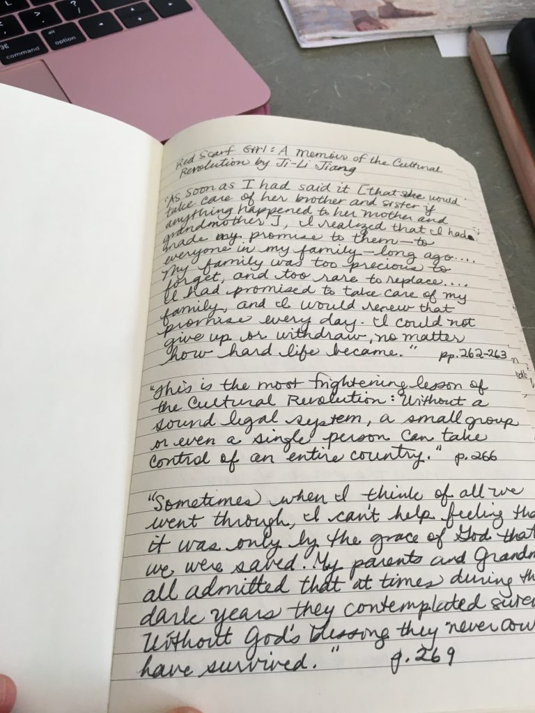 Quotes From Good Reads Journal