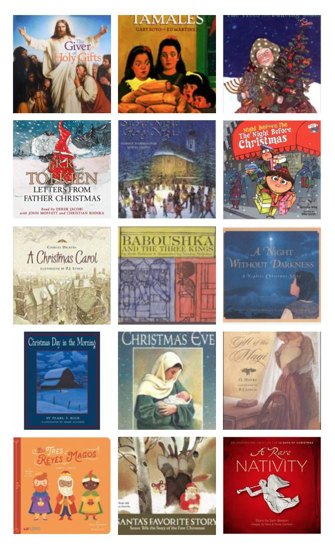 2019 Christmas Books