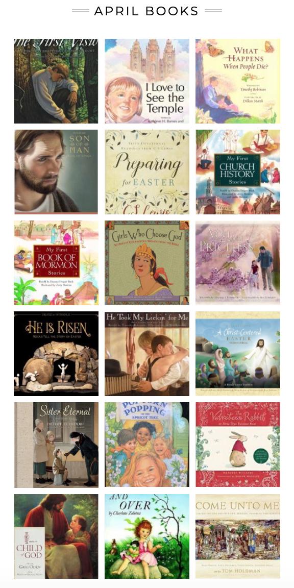 April 2020 Books